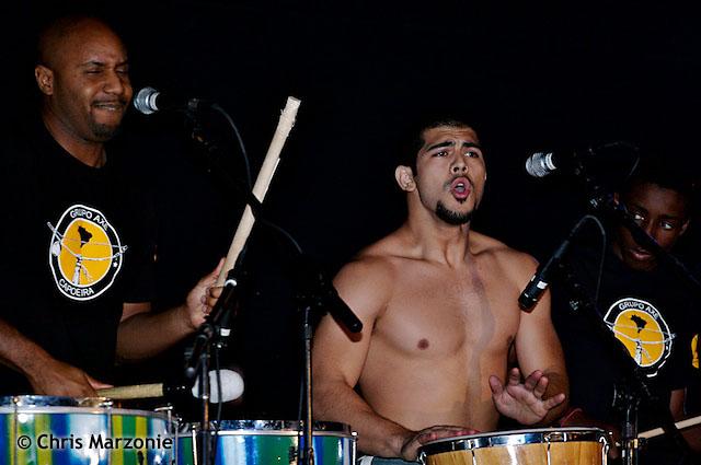 Capoeira drumming