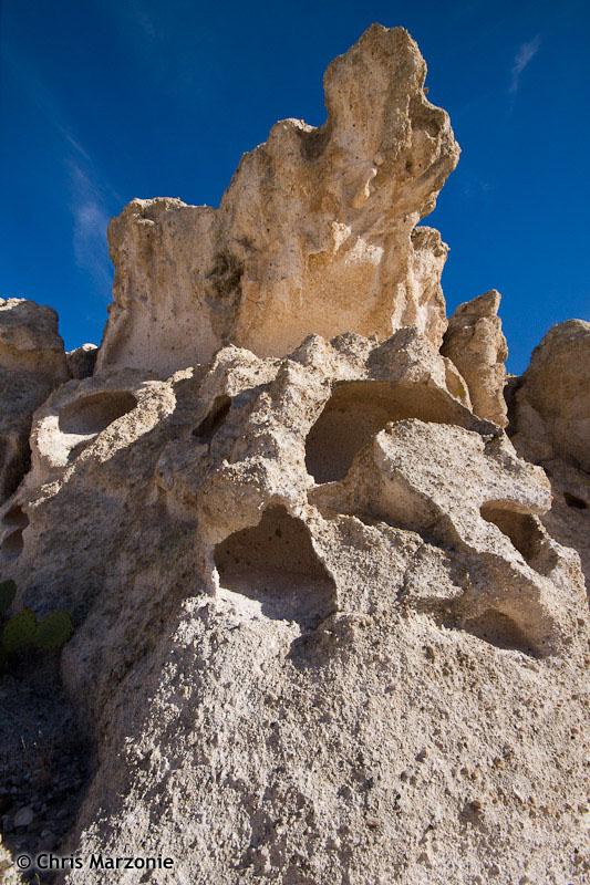 Wild tufa formation
